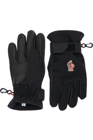 Moncler Techno Nylon Ski Gloves
