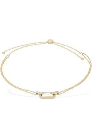 Eera Lucy 18kt Gold Choker W/ Diamonds