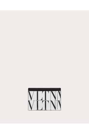 VALENTINO GARAVANI Men Wallets - Vltn Times Cardholder Man Optic / 100% Pelle Bovina - Bos Taurus OneSize