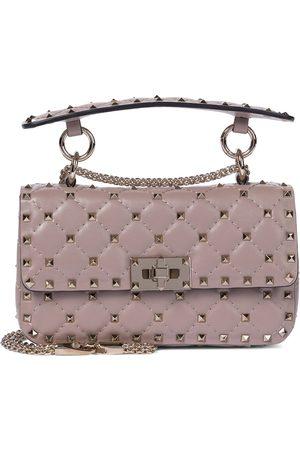 VALENTINO GARAVANI Rockstud Spike Small leather shoulder bag