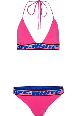 OFF-WHITE Logo bikini
