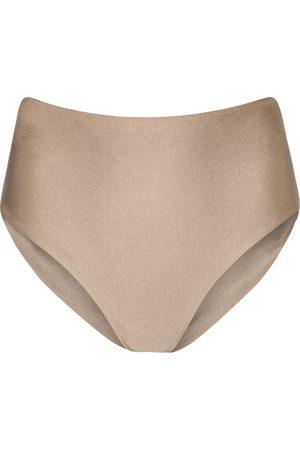 Jade Swim Bound high-rise bikini bottoms