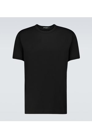 Dolce & Gabbana Short-sleeved cotton T-shirt