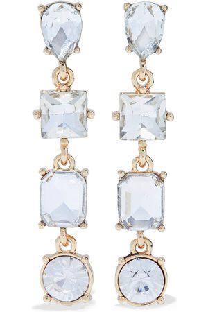 Kenneth Jay Lane Women Earrings - Woman 22-karat -plated Crystal Earrings Size