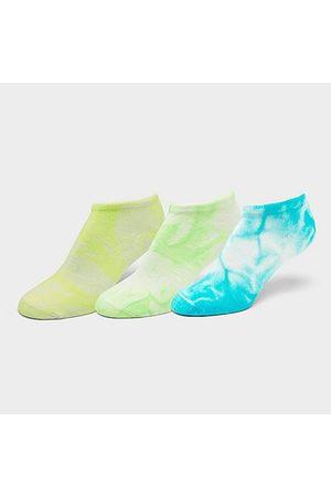 Sof Sole Women Socks - Women's Tie-Dye 3-Pack No-Show Socks in / Size Medium