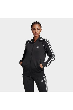 adidas Women's Originals 3-Stripes Track Jacket in Size X-Small Polyester