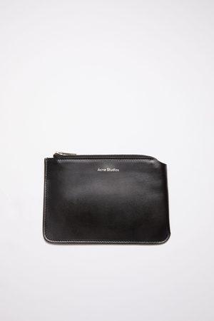 Acne Studios FN-UX-SLGS000109 Leather zip wallet