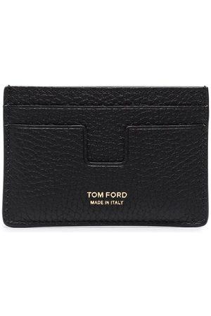 Tom Ford Men Wallets - Pebbled leather cardholder