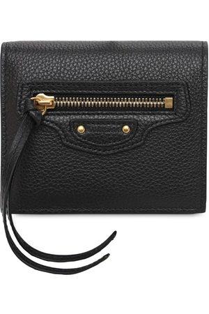 Balenciaga Flap Leather Wallet