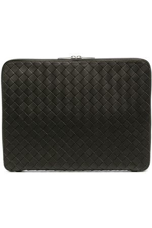 Bottega Veneta Men Laptop Bags - Intrecciato laptop clutch bag