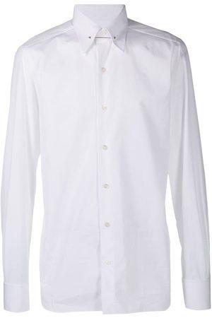 Tom Ford Men Shirts - Metal-bar evening shirt