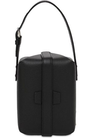 VALEXTRA New Tric Trac Grained Leather Bag