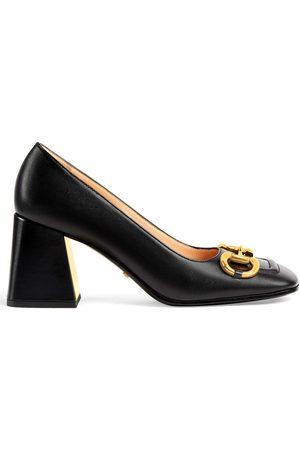 Gucci Horsebit mid-heel pumps