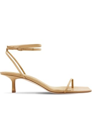 Studio Amelia 50mm Leather Thong Sandals
