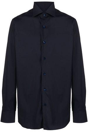 BARBA Plain button shirt