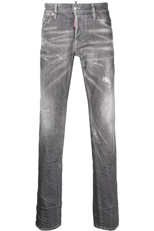 Dsquared2 Straight-leg jeans - Grey
