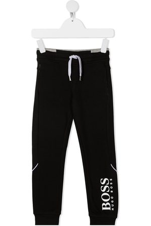 HUGO BOSS Boys Sweatpants - Logo-print track pants