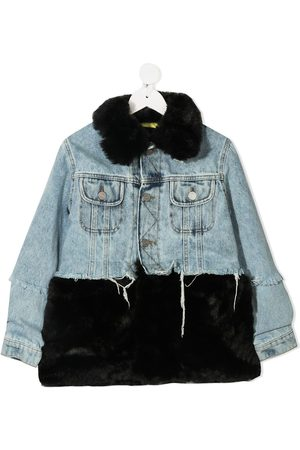 DUOltd Boys Denim Jackets - Two-tone denim jacket