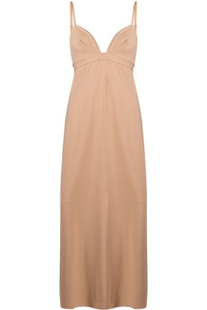 ERES Silhouette long night gown - Neutrals