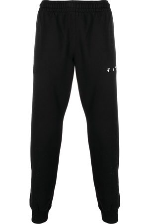 OFF-WHITE Men Sweatpants - Caravaggio stripe track pants