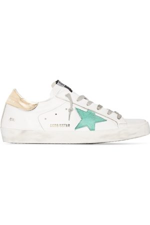 Golden Goose Superstar leather low-top sneakers