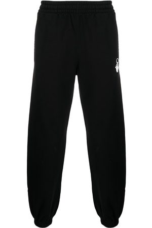 OFF-WHITE Men Sweatpants - Marker stripe track pants