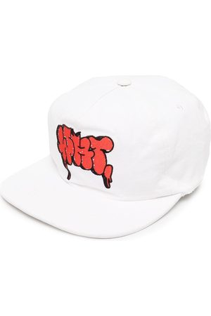 OFF-WHITE Men Caps - Logo-embroidered cap