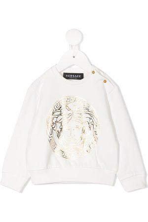VERSACE Hoodies - Medusa-print crew neck sweatshirt