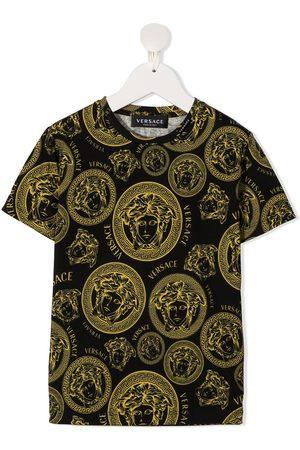 VERSACE All-over Medusa head cotton t-shirt