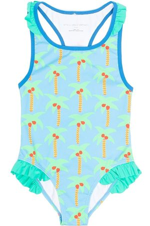 Stella McCartney Palm tree-print swimsuit
