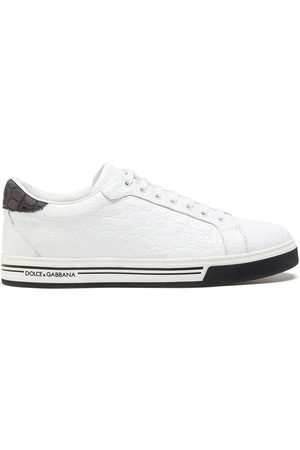 Dolce & Gabbana Roma crocodile leather sneakers
