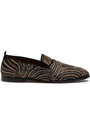 Dolce & Gabbana Rhinestone-embellished slippers