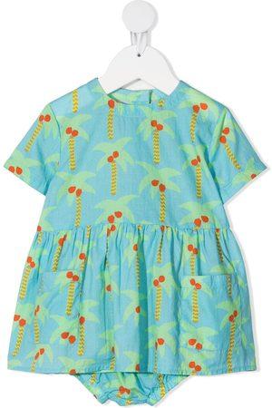 Stella McCartney Palm tree-print dress