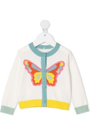 Stella McCartney Butterfly-intarsia cardigan
