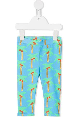 Stella McCartney Palm tree-print leggings