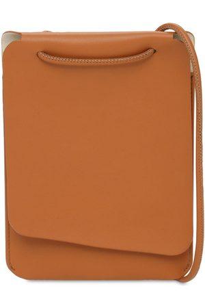 IL BISONTE Petit New Nomad Leather Shoulder Bag