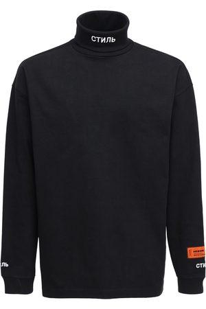 Heron Preston Ctnmb Cotton Jersey T-shirt