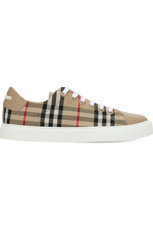 Burberry 20mm Albridge Cotton Canvas Sneakers