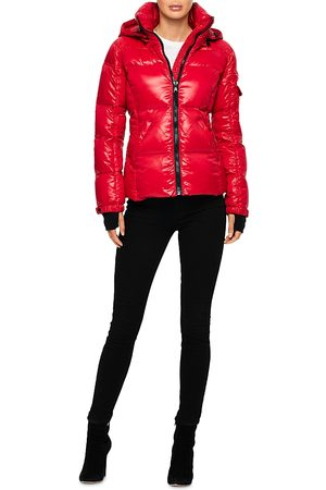S13 Nyc S13 Kylie Glossy Fleece Cuff Puffer Coat (64.4% off) Comparable value $225