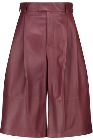 Bottega Veneta Leather culottes