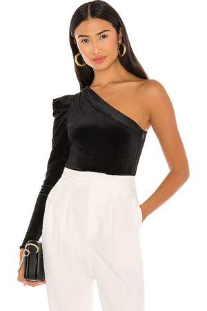 AllSaints Daphne Velvet Bodysuit in .