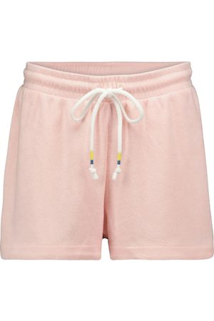The Upside Florencia cotton-blend shorts