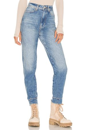 Free People Marion High Waisted Jean in Blue.