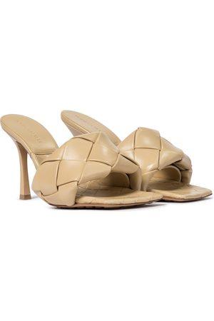 Bottega Veneta BV Lido leather sandals