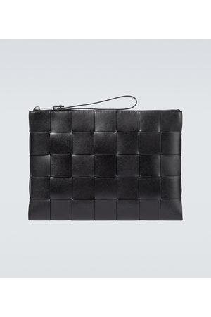 Bottega Veneta Intrecciato Urban leather pouch