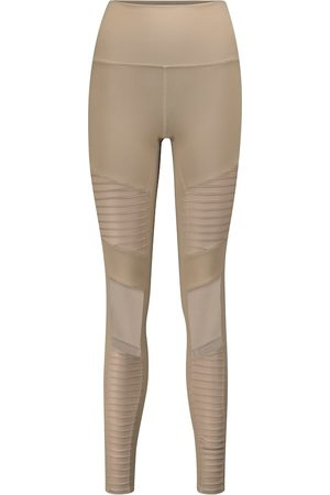 alo Women Leggings - Moto high-rise leggings