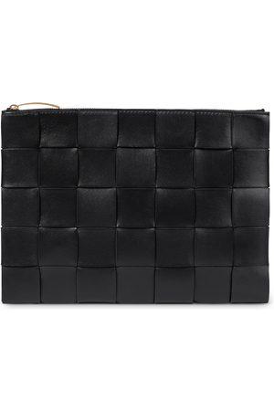 Bottega Veneta Intrecciato leather clutch