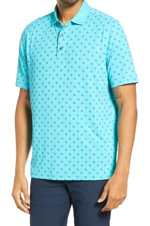 Cutter & Buck Men's Forge Stretch Print Polo Shirt