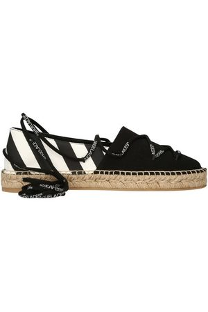 OFF-WHITE Lace-up espadrilles