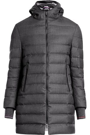 Thom Browne Men's Hooded Down Puffer Ski Coat - - Size 2 (M)